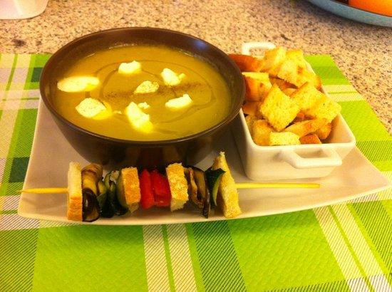Quanto Basta: zuppa d'orzo con funghi