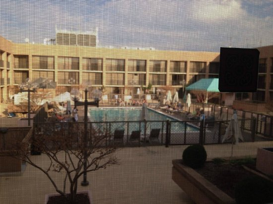 L'Enfant Plaza Hotel: view from our room