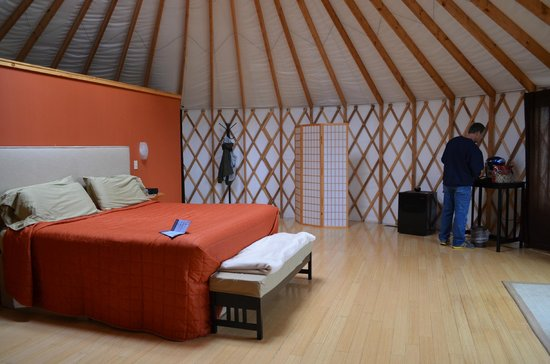 The Lodge at the Wilds : Grand Yurt
