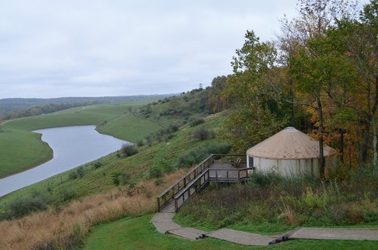 The Lodge at the Wilds : The Grand Yurt