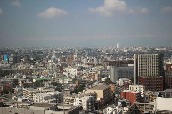 Hotel Metropolitan Tokyo Ikebukuro : View of the city from our room