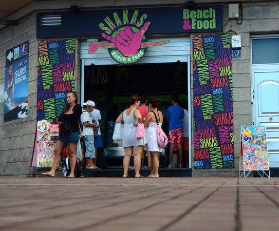 SHAKAS Beach&Food : Fachada