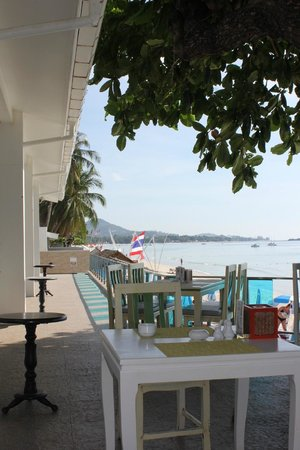 Chaweng Cove Beach Resort : View of beach area