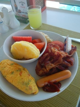 Chaweng Cove Beach Resort : Breakfast