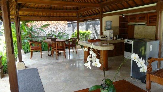 The Club Villas: Living area