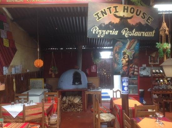 Inti House: great pizza