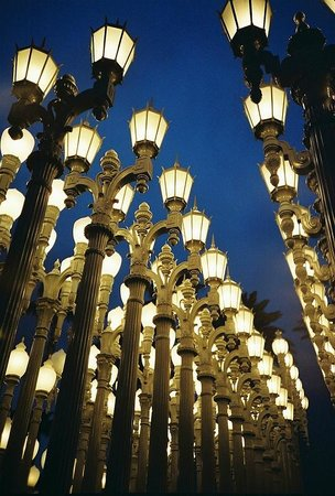 Urban Light at LACMA Picture of Los Angeles County