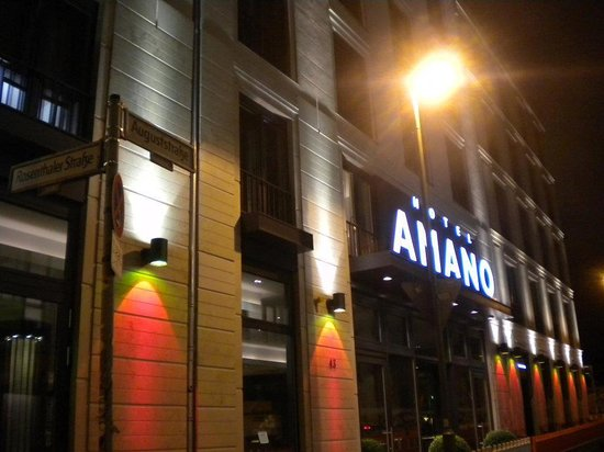 Hotel AMANO : the front