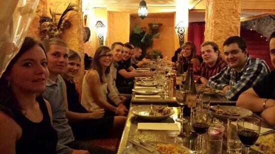 LE TOUAREG COLMAR : repas d anniversaire