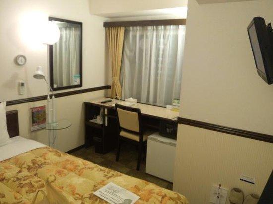 Toyoko Inn Shinagawaeki Konanguchi Tennozu : 綺麗な部屋