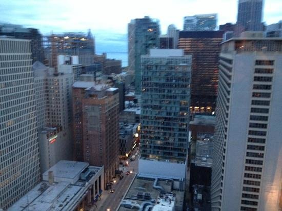 Chicago Marriott Downtown Magnificent Mile : room with a view!