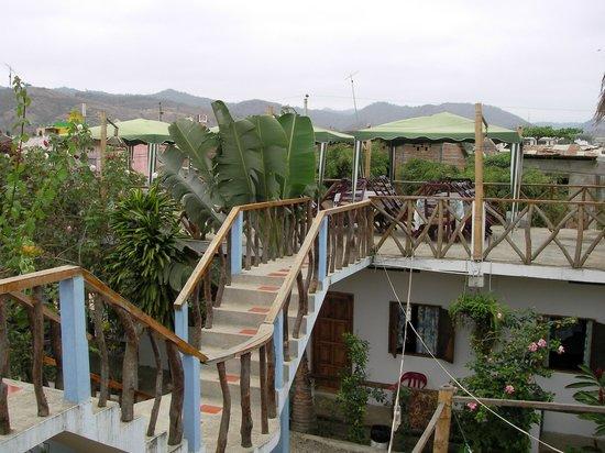 Hostal Machalilla: Vista desde terrazas