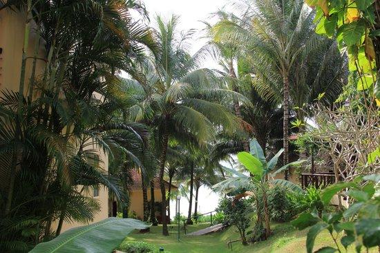 Saigon Phu Quoc Resort: Вид с балкона