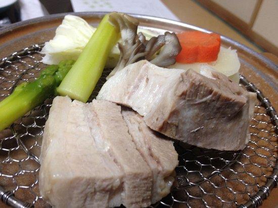 Kangetsuen : 野菜蒸し