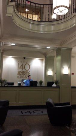 Hotel 140: Reception