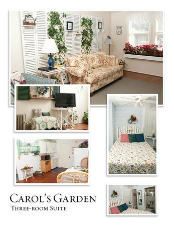 Simpsons Bed & Breakfast: Carol's Garden Suite (three-room)