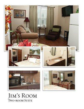 Simpsons Bed & Breakfast: Jim's Suite (two-room)