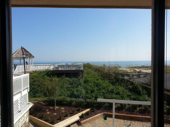 Ramada Plaza Nags Head Oceanfront: view from the restaurant