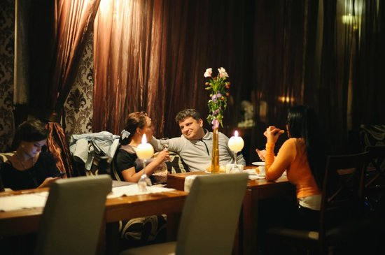 Krakow Hotel : Ужин в ресторане