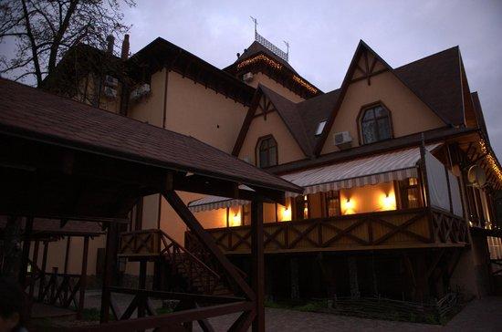 Krakow Hotel : Вид на террасу