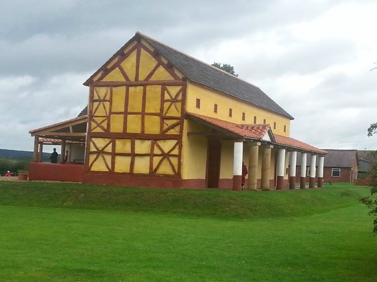 Wroxeter Roman City: Reconstructed Roman Town House Wroxeter SY5 6PH, England