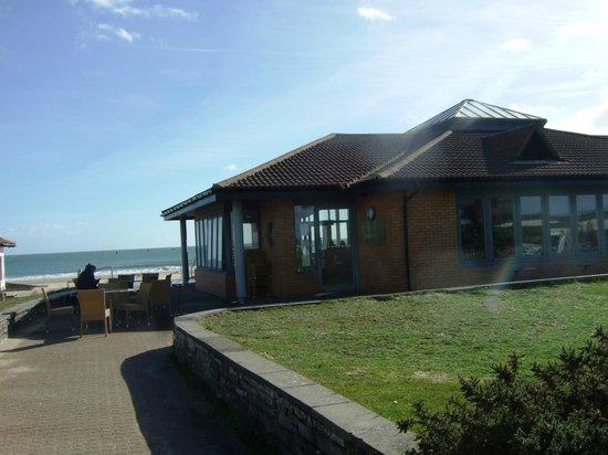 Sandbanks Beach cafe: Cafe