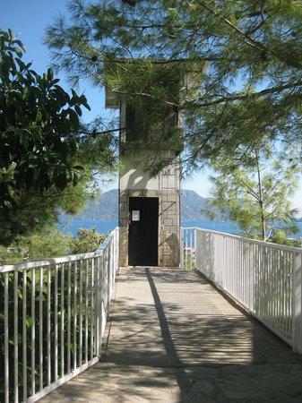 Halici Semera Holiday Village : Лифт!