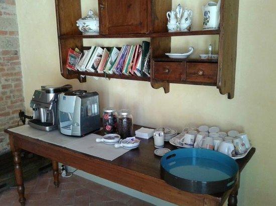 Podere La Casa: Coffee machines for guests
