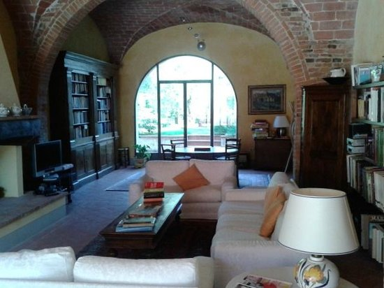 Podere La Casa: Common room for guests' use