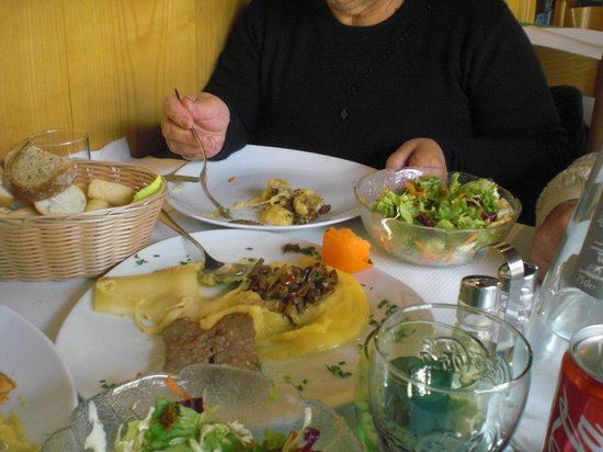 Il Ponte: il piatto del boscaiolo
