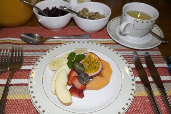 Claires of Sandton: Fresh fruit as a breakfast appetizer