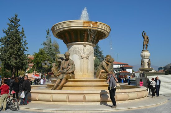 Fountain of the Mothers of Macedonia: The Mothers