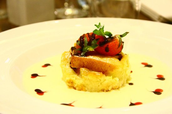 Vivre: Bread and butter pudding