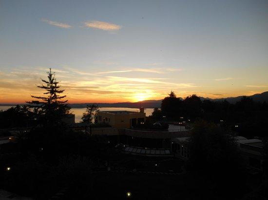 Le Torri del Garda Hotel: Abendstimmung im Oktober