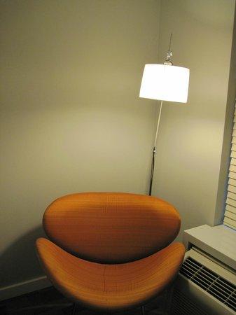 Avatar Hotel, a Joie de Vivre hotel: Mod chair was comfortable
