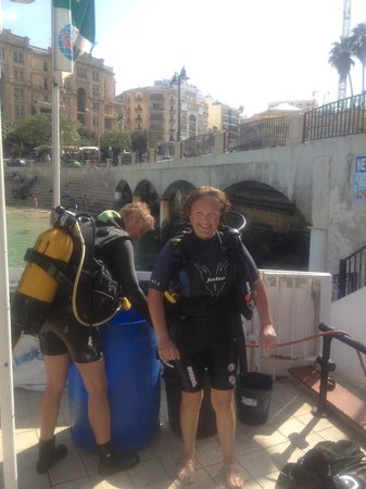 Neptunes Diving Malta: The smile says it all!