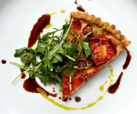 Veranda On Highland : Heirloom Tomato Tart