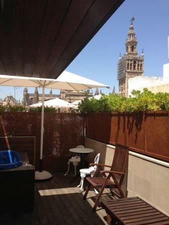 Hotel Casa 1800 Sevilla: Zona de jacuzzi