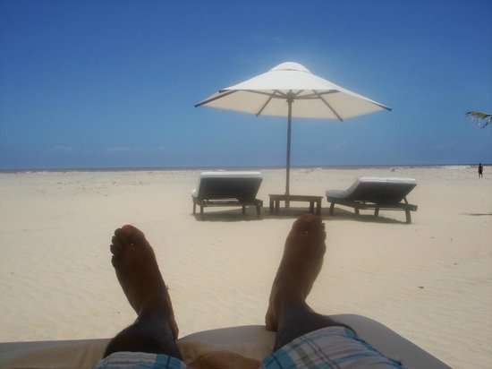 Ocean Beach Resort & Spa : The ultimate beach view. private with no bother
