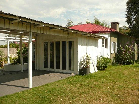 Kama-Loka: Vista desde el jardin