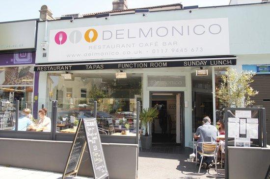 Delmonico: Restaurant Terrace