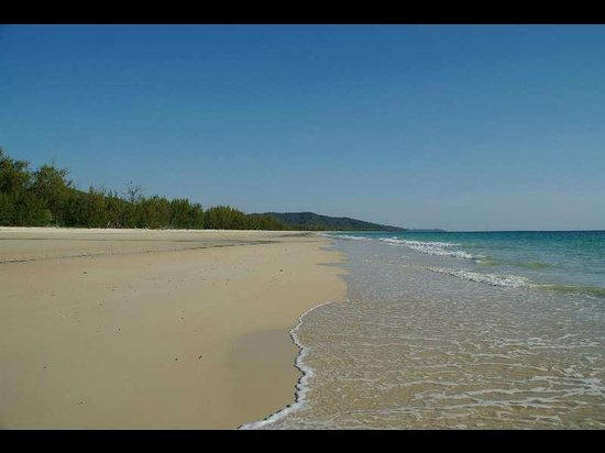Natura Lodge Nosy Be: la plage