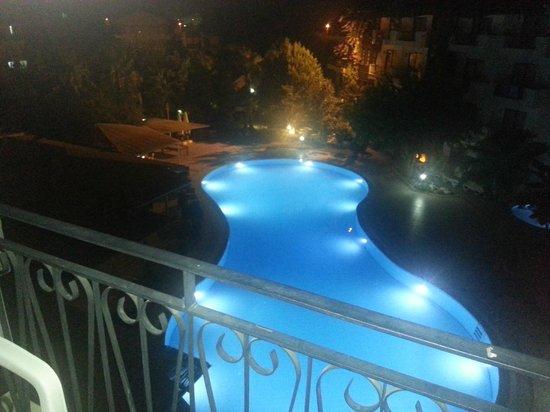 Lemas Suite Hotel: Fra balkongen