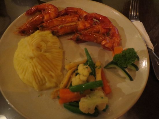 The Heritage Kitchen and Gallery: King Prawn