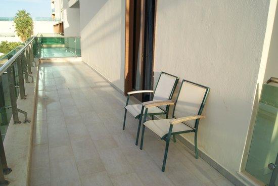 Carlos V Hotel : Terraza
