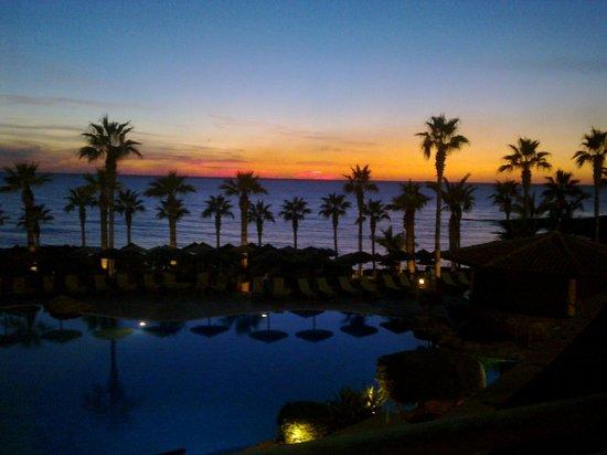 Atlantica Golden Beach Hotel: Sunset from Terrace