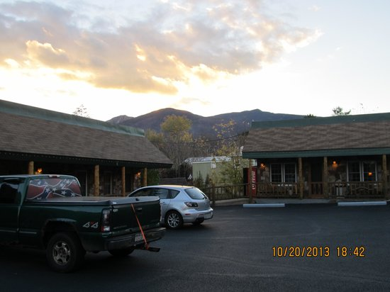Mountain Brook Lodge: the view from the lodge