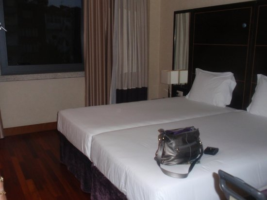 Eurostars Das Artes Hotel: vue de la chambre