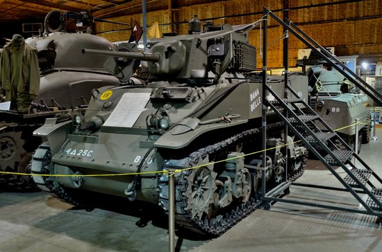 U.S. Veterans Memorial Museum : Stuart light tank