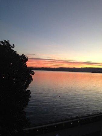 Bellariva Hotel: Sonnenuntergang
